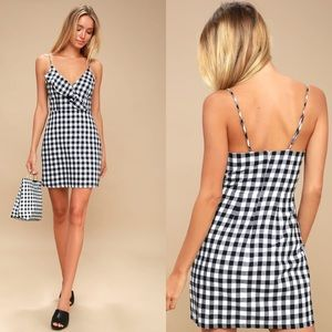 Lulu's | Main Street Gingham Dress